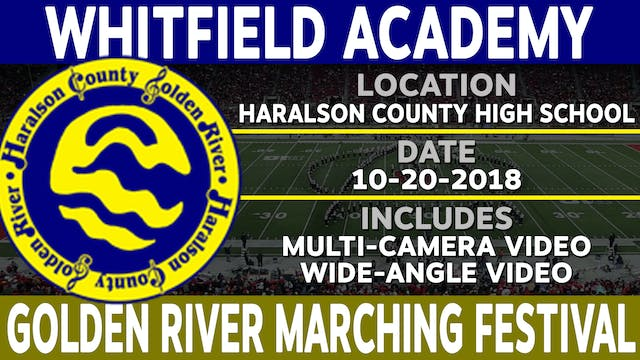 Whitfield Academy - Golden River Marching Festival