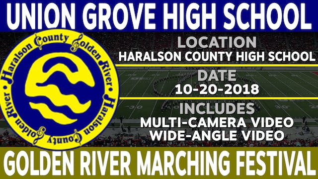 Union Grove High School - Golden River Marching Festival