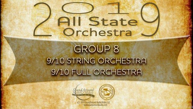 2019 All State Orchestra: 9/10 Grade