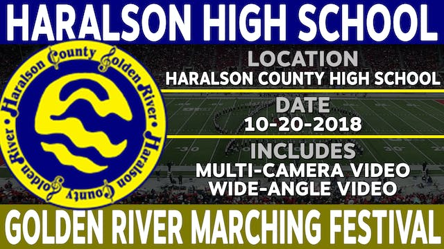Haralson High School - Golden River Marching Festival
