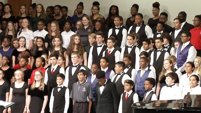 2018 District 6 Middle School Mixed Honor Chorus