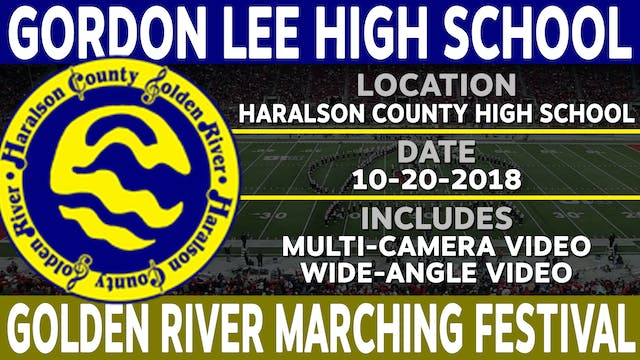 Gordon Lee High School - Golden River Marching Festival