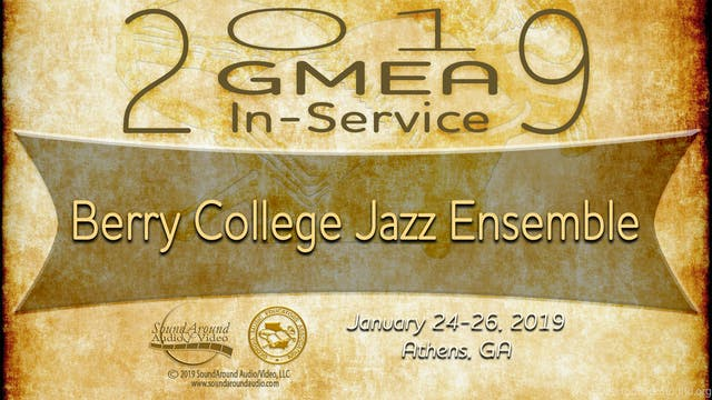 Berry College Jazz Ensemble