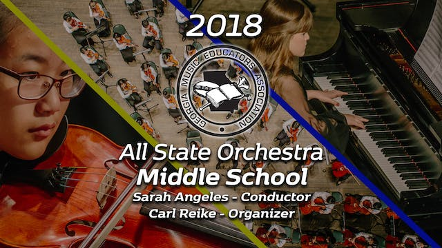 Middle School Orchestra: Sarah Angeles