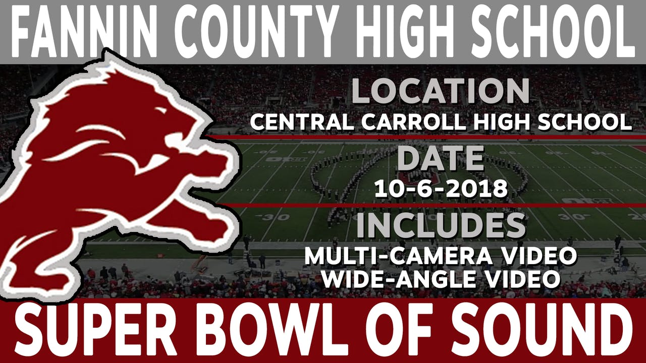 Fannin County High School - Super Bowl Of Sound