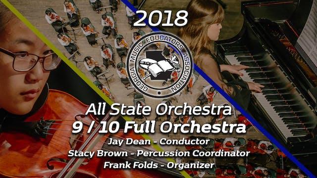 9/10 Full Orchestra: Jay Dean