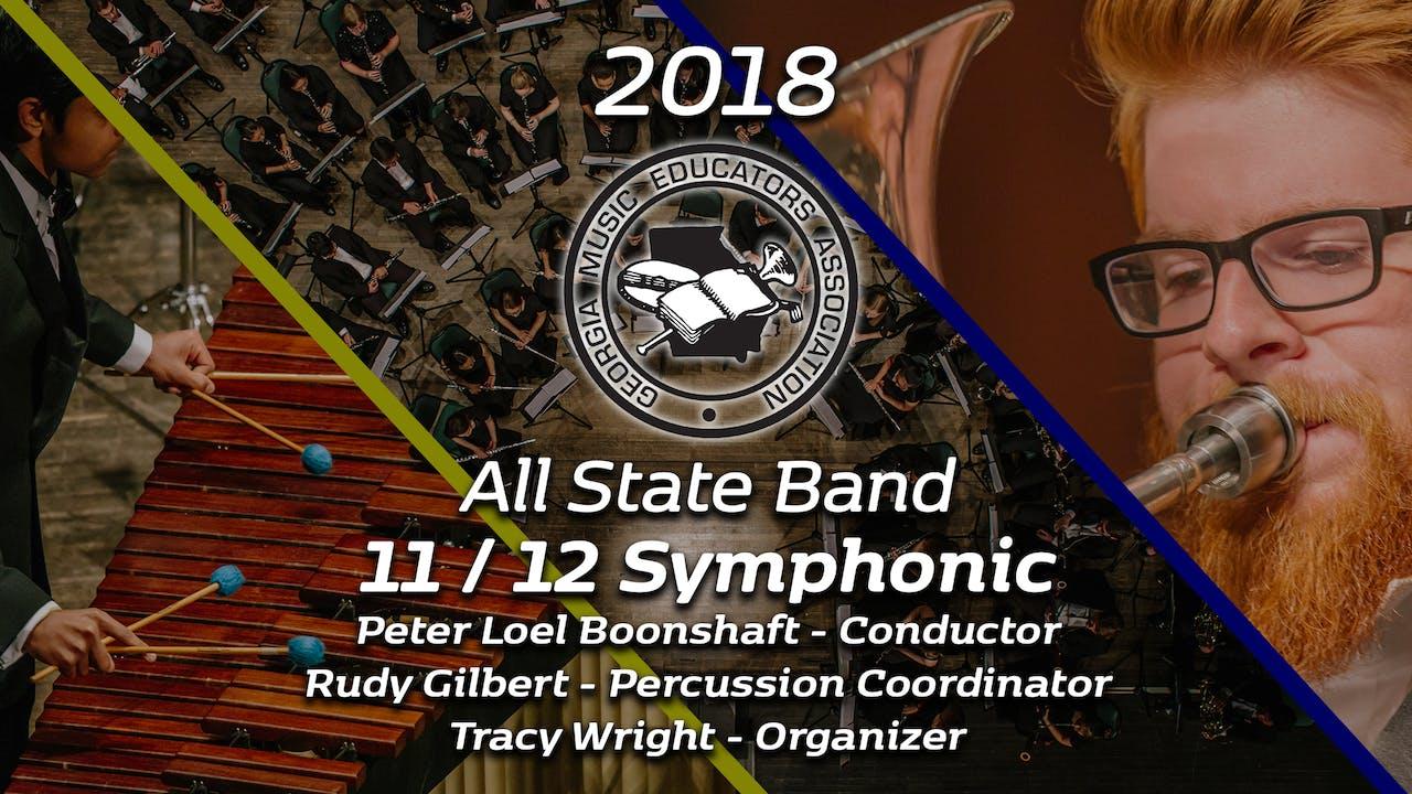 11/12 Symphonic Band: Peter Loel Boonshaft
