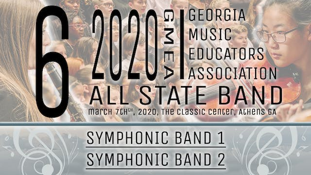 Group 6: Symphonic Bands - 20 GMEA All State