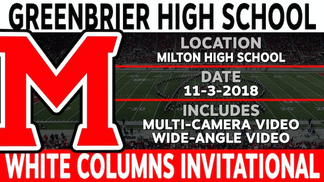 Greenbrier High School - White Columns Invitational