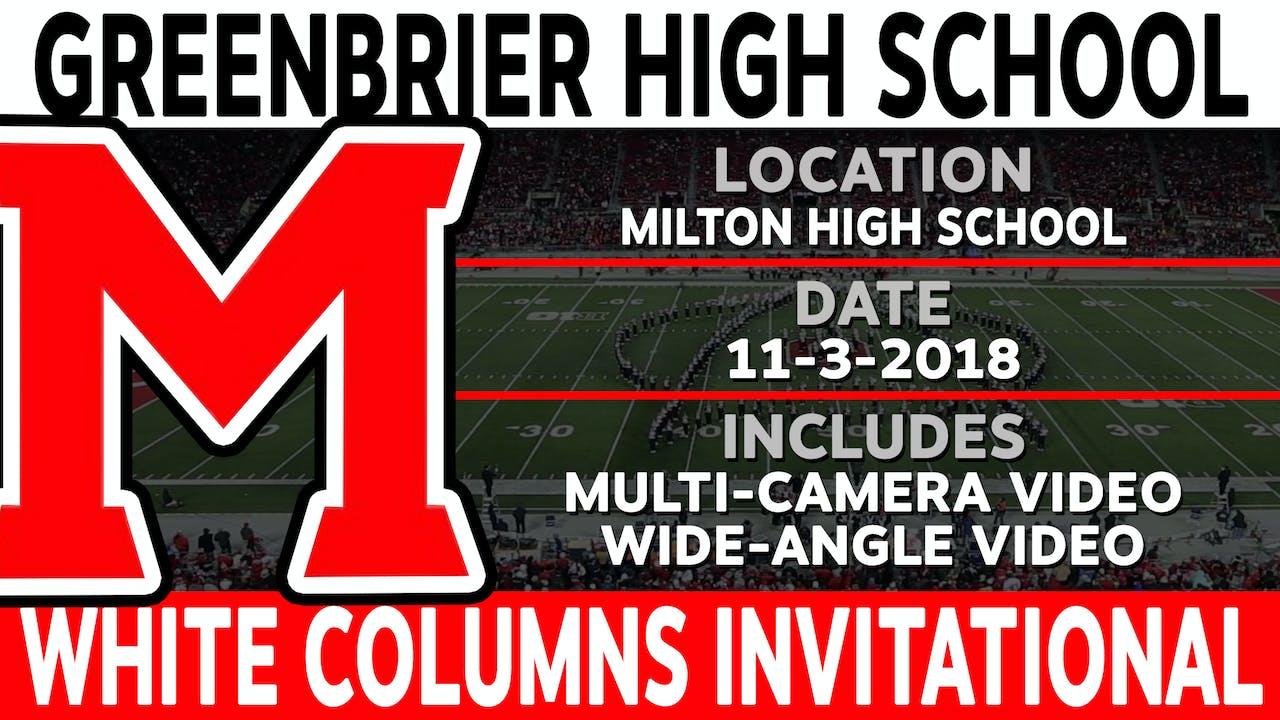 Greenbrier High School - White Columns Invitational