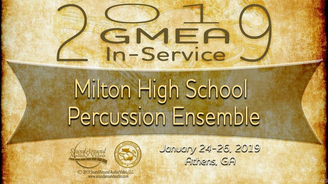 Milton High School Percussion Ensemble