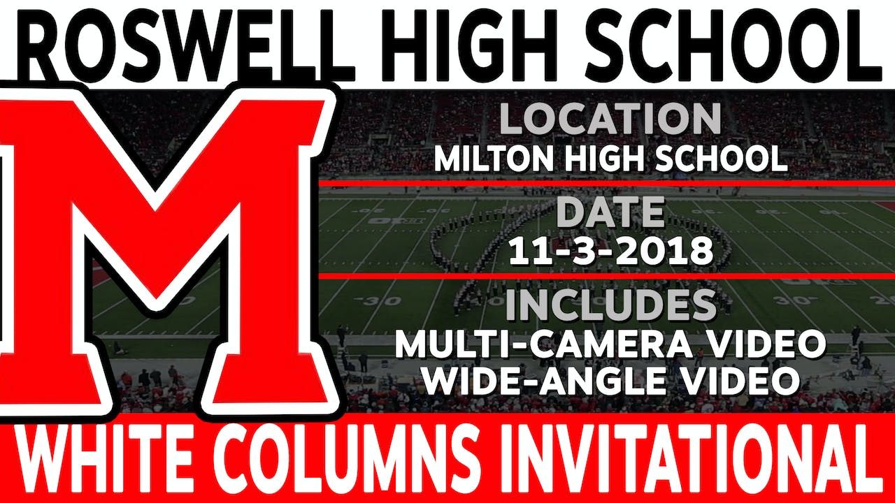 Roswell High School - White Columns Invitational