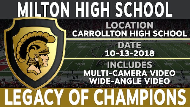 Milton High School - Legacy of Champions