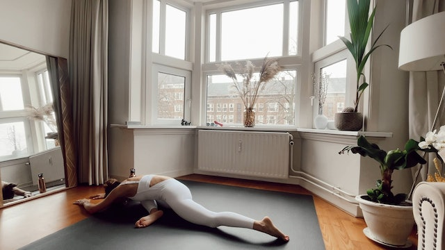 Yin Yoga for lower part of the body