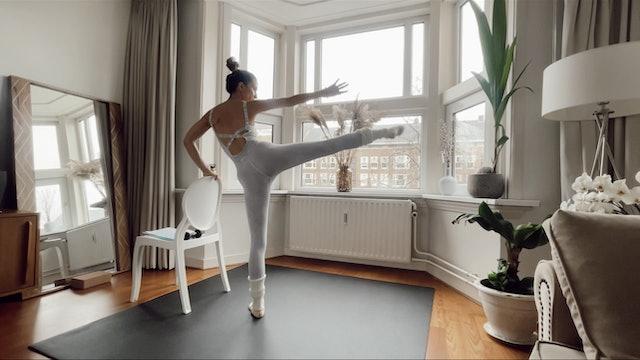 Ballet Fit- Session 3- 12/03/21. 30 min