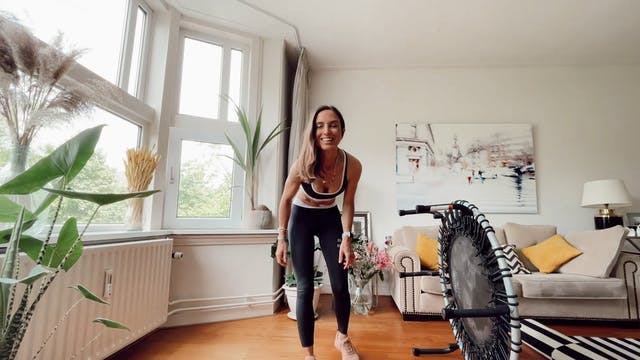 Rebounder 2 Full Body Workout 30 minutes