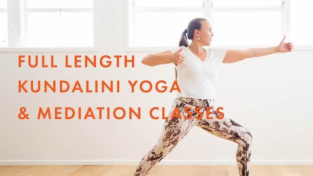 Full-Length Kundalini Yoga Classes
