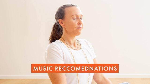 Using music alongside your classes!