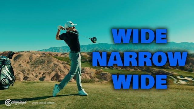 JAMIE SADLOWSKI: Wide, Narrow, Wide