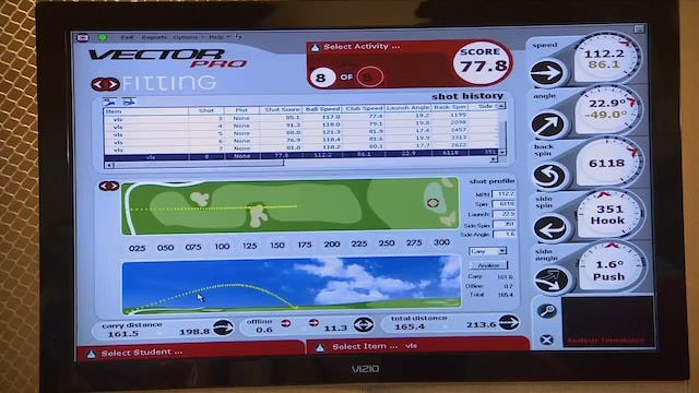 Get clubs fit for your game at GolfTEC