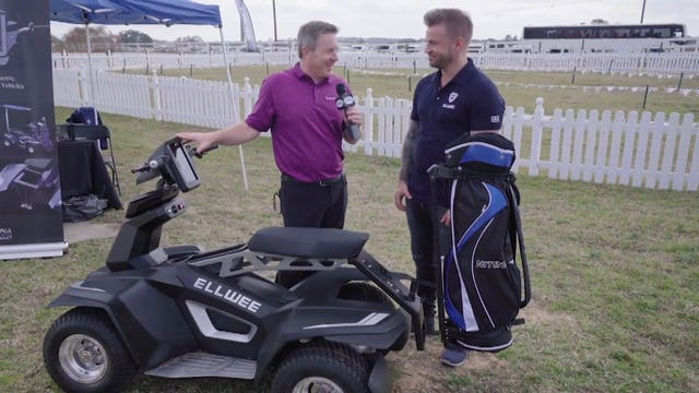 Ellwee: Electric Golf Cart