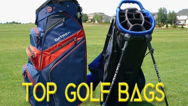 Top Golf Bags of 2018