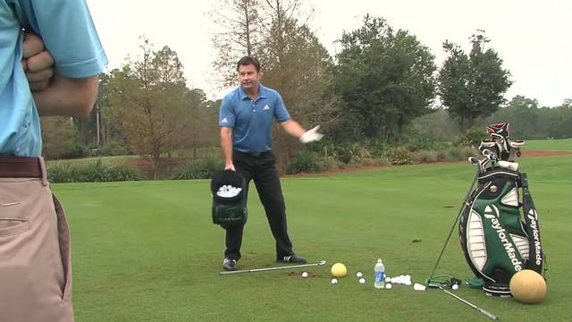 Nick Faldo: Throwing Motion
