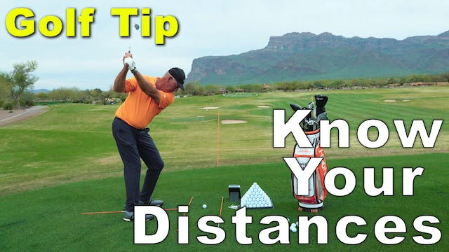 Mike Malaska: Know Your Distances