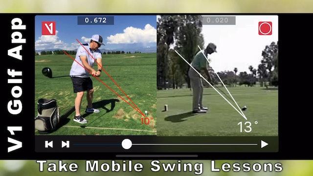 V1 Sports Golf App: Rob Labritz