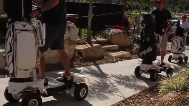 Golf Skate Caddy