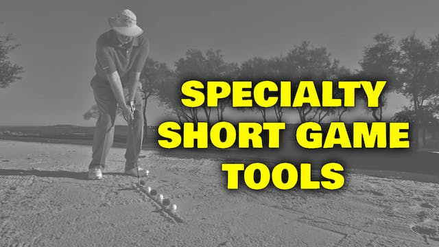 PELZ CORNER : Short Game Tools