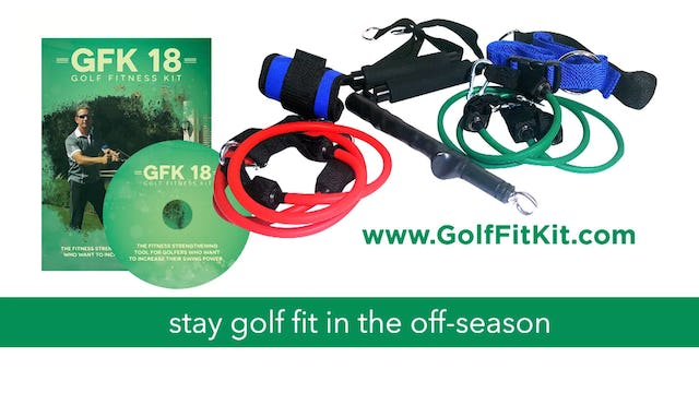 Golf Fitness Tip - Acceleration of Forward Swing