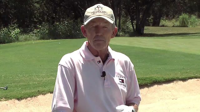Chuck Cook: Chipping Cut Sweep