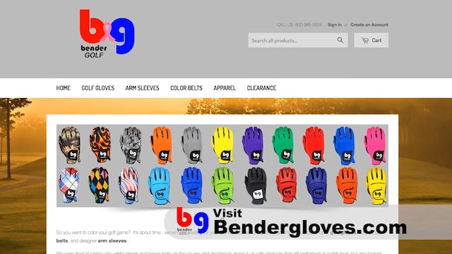 BenderGloves - Add color to your hands
