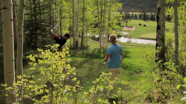 Visit the Vail Golf Club in Colorado