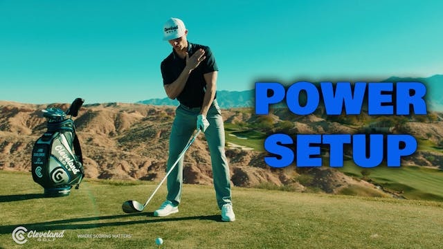 JAMIE SADLOWSKI: Power Setup