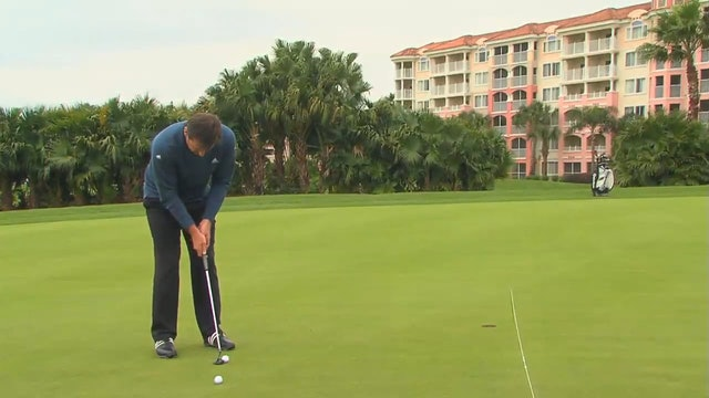 Nick Faldo: Putting Tip