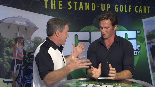 Greg Norman Jr. talks Golf Skate Caddy