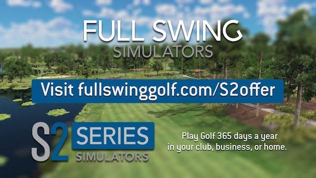 S2 Simulator from Full Swing Golf