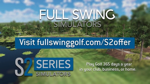 S2 Simulator from Full Swing Golf