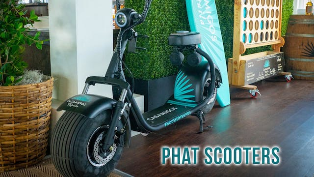 Phat Scooters @ The Waste Management