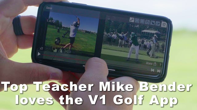 V1 Sports Golf App: Mike Bender