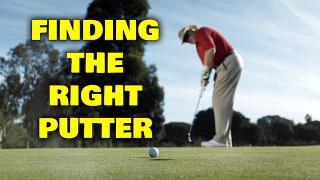 PELZ CORNER 2: Find Your Putter