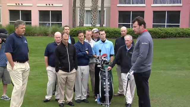 Nick Faldo: Chipping-2