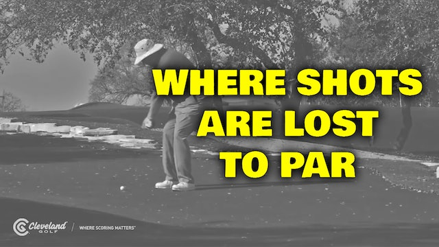 PELZ CORNER : Where Shots Are Lost to Par