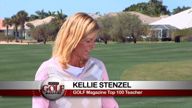 Kellie Stenzel: Downhill Chip with Putter