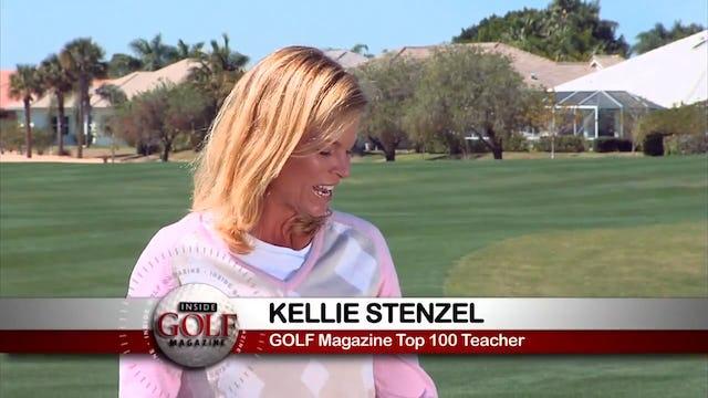 Kellie Stenzel: Downhill Chip with Putter