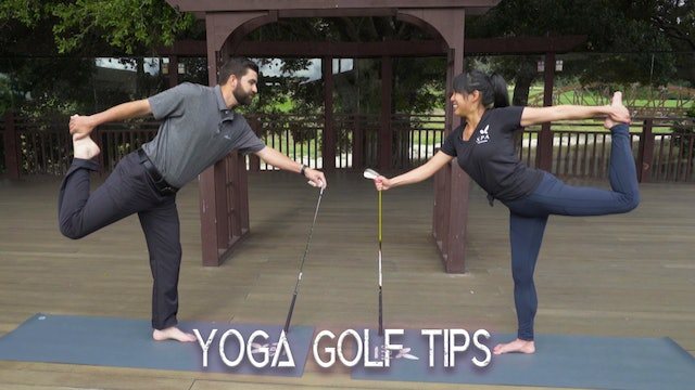 Golf Yoga Tips