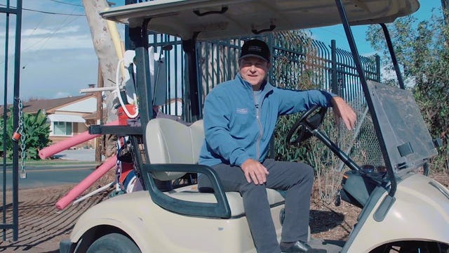 Dave Emerick Story for Golf
