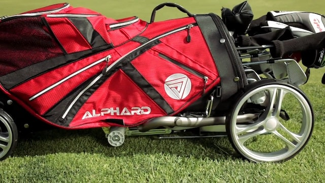 Alphard Golf Push Cart